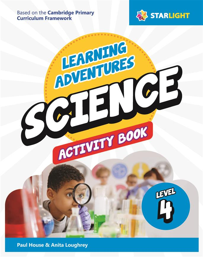 Learning Adventures Science Activity Book 4