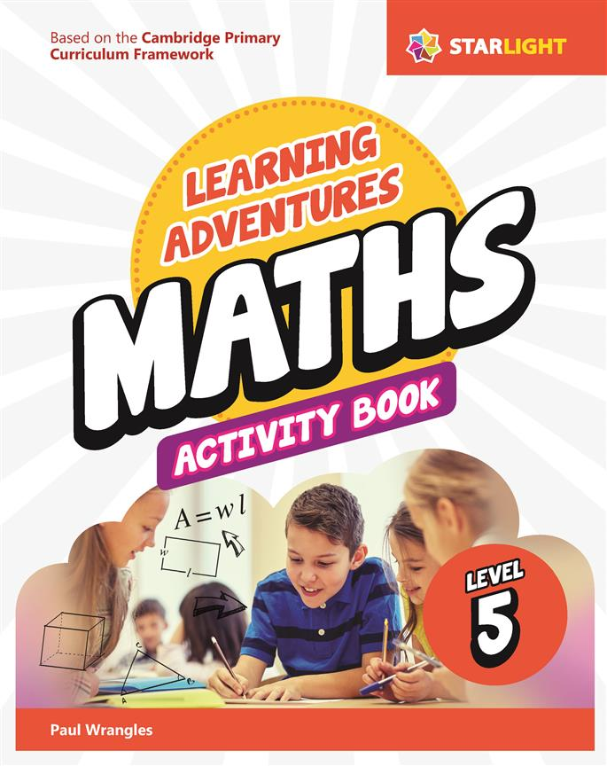 Learning Adventures Maths Activity Book 5