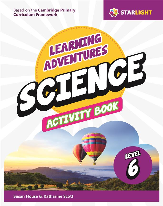 Learning Adventures Science Activity Book 6