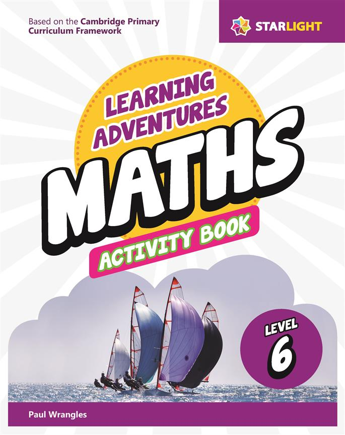 Learning Adventures Maths Activity Book 6