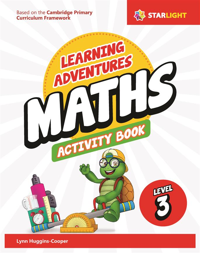Learning Adventures Maths Activity Book 3