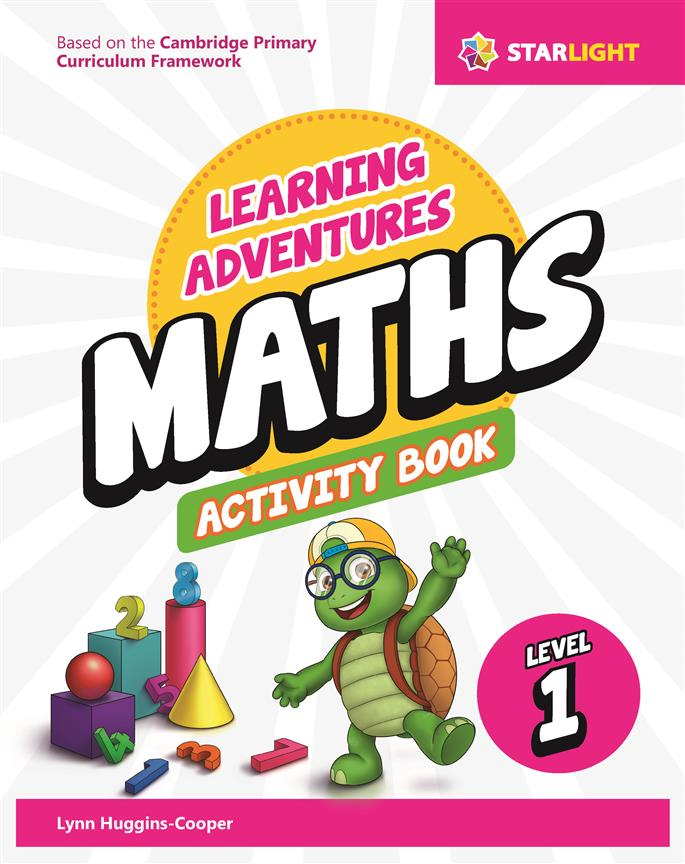 Learning Adventures Maths Activity Book 1