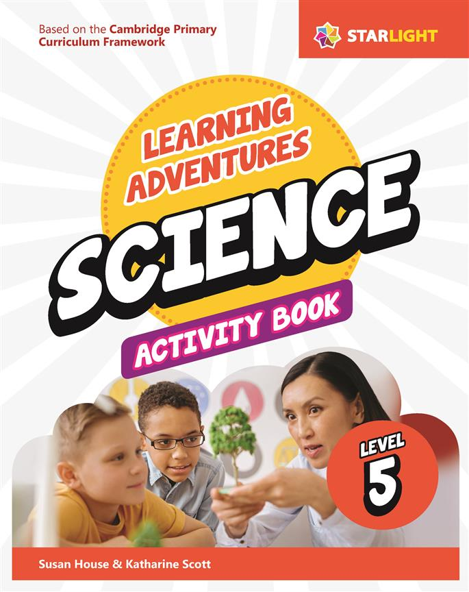 Learning Adventures Science Activity Book 5