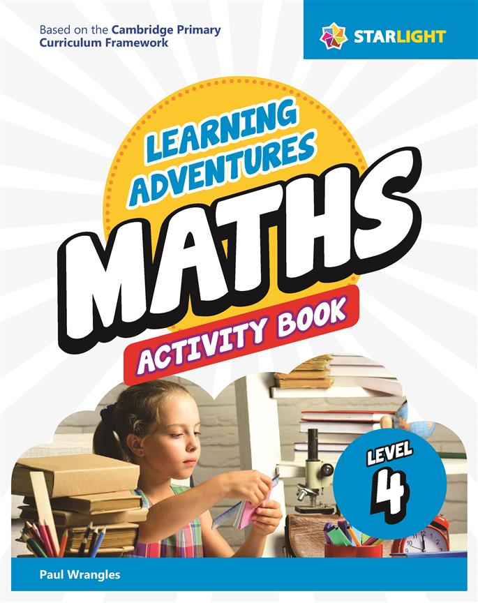 Learning Adventures Maths Activity Book 4