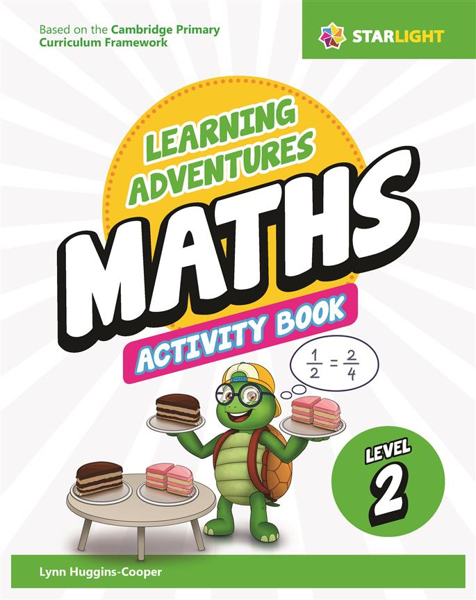 Learning Adventures Maths Activity Book 2